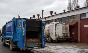 Faun Rotopress, śmieciarki zamiatarki hakowce